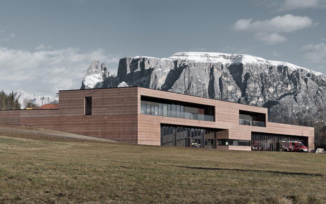 Das Zivilschutzzentrum Ritten gewinnt internationalen Iconic Award!